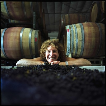 Barrels of wine produced in Lompoc wineries